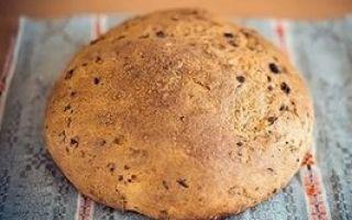 Выпечка домашнего хлеба в духовке