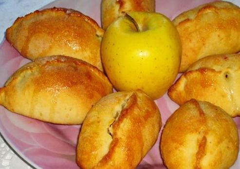 Супер творожные пирожки с яблоками